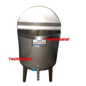 کره گیر دوغ زن مشک برقی صنعتی موتور بالا تکنوصنعت